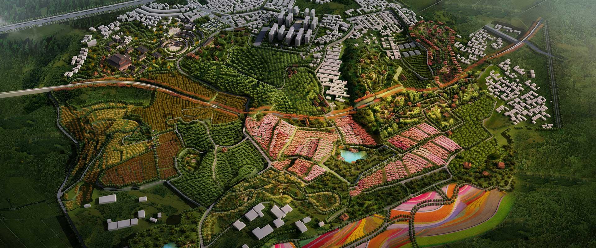河南新密超化休闲农业产业园总体规划